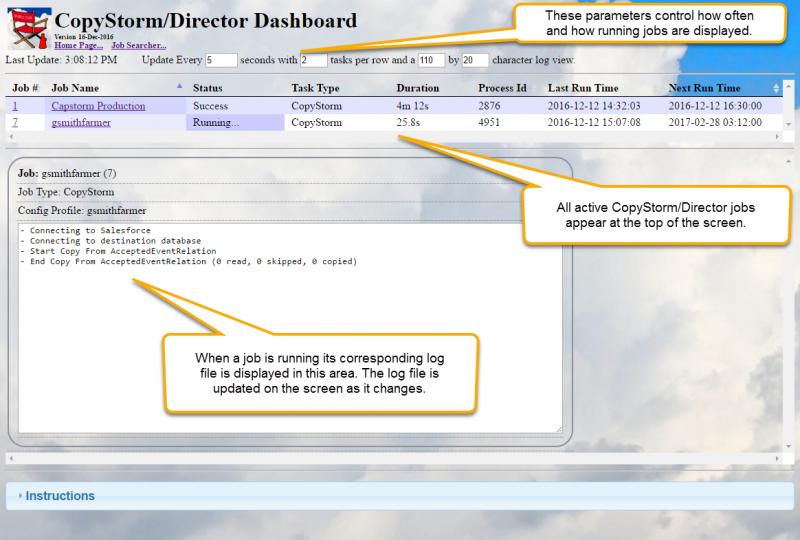 CopyStorm/Director Dashboard - Capstorm Learning Center